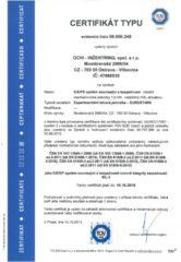 Certifikát – Rotační jednotky (HSL)