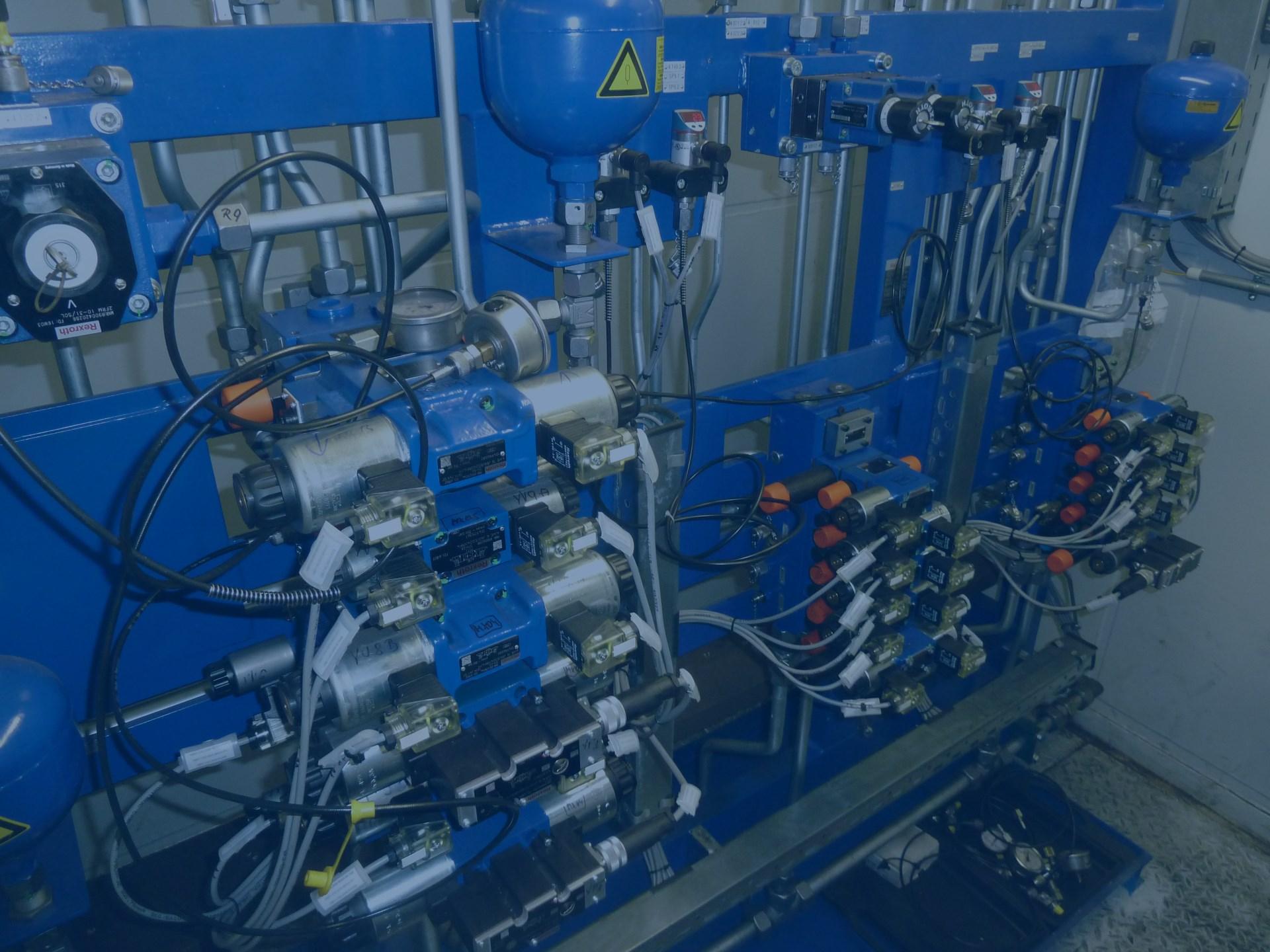 Sortiment a komponenty pro hydraulické a mazací systémy
