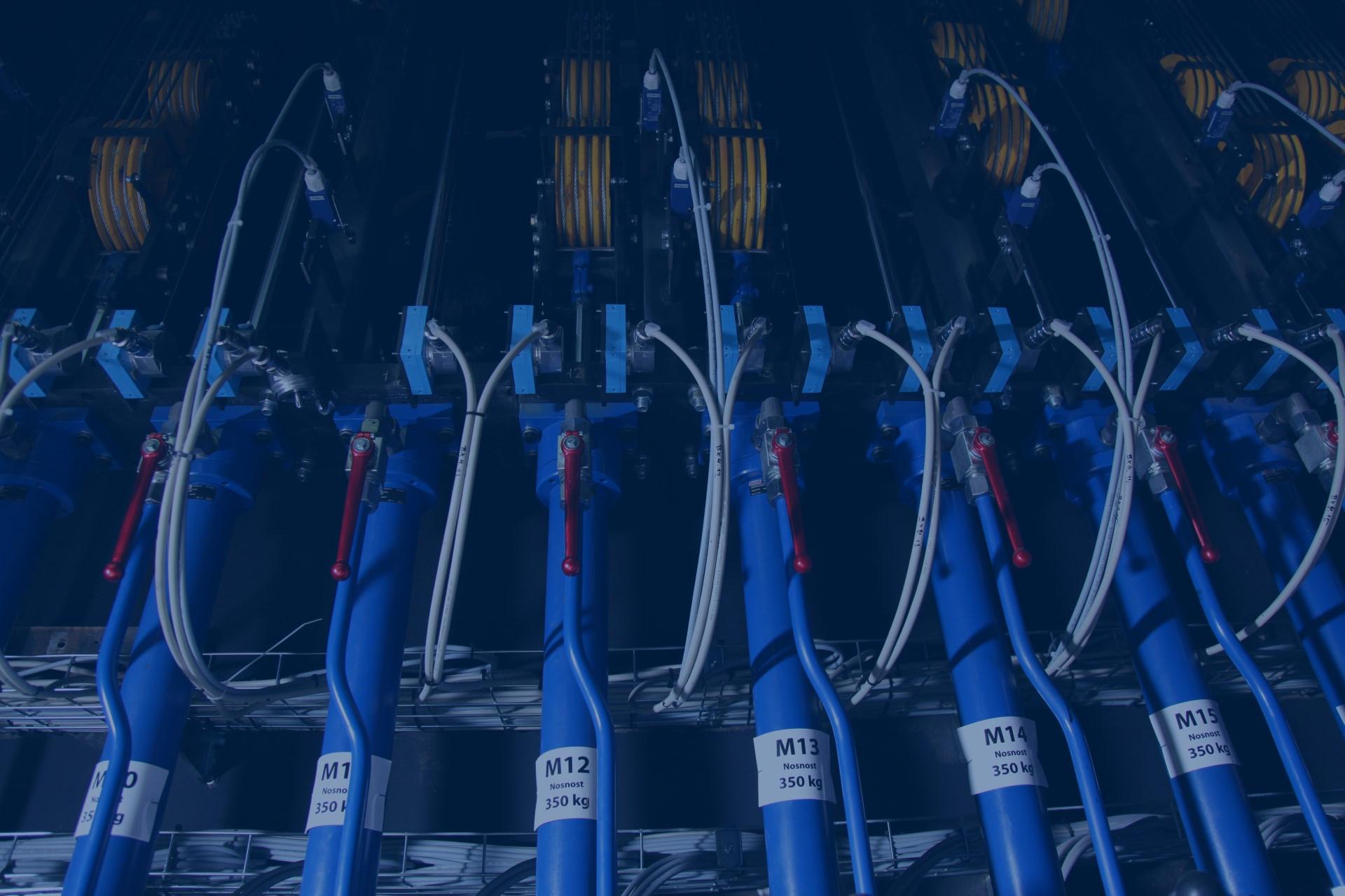 dodavatel hydraulických systémů pro těžký průmysl
