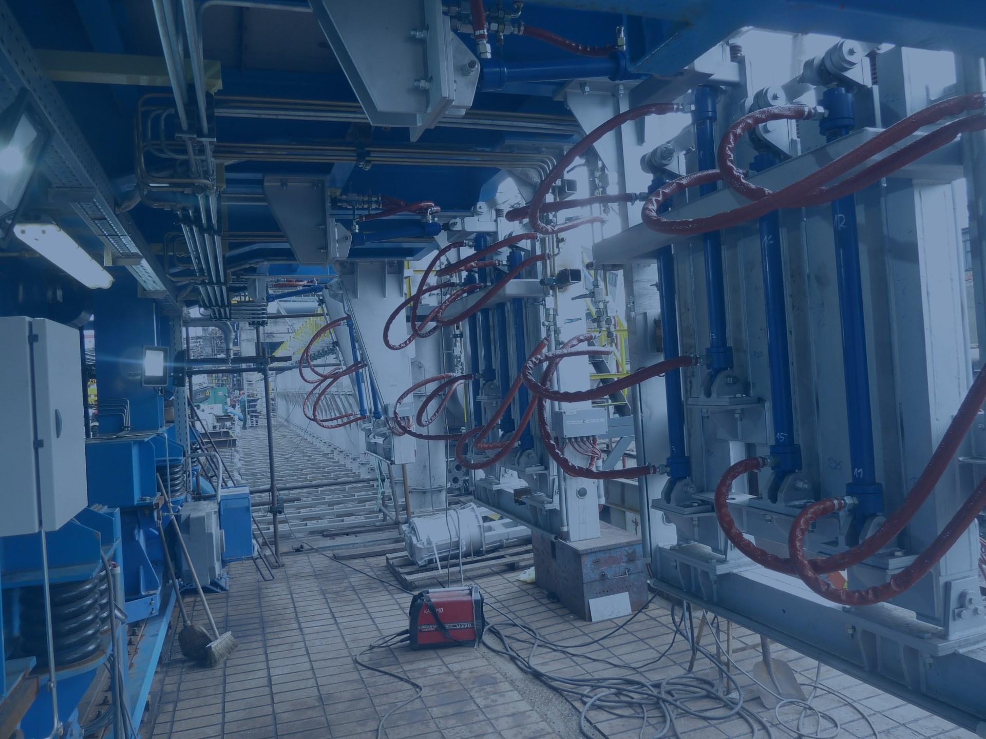 Výroba a montáže hydraulických a mazacích systémů